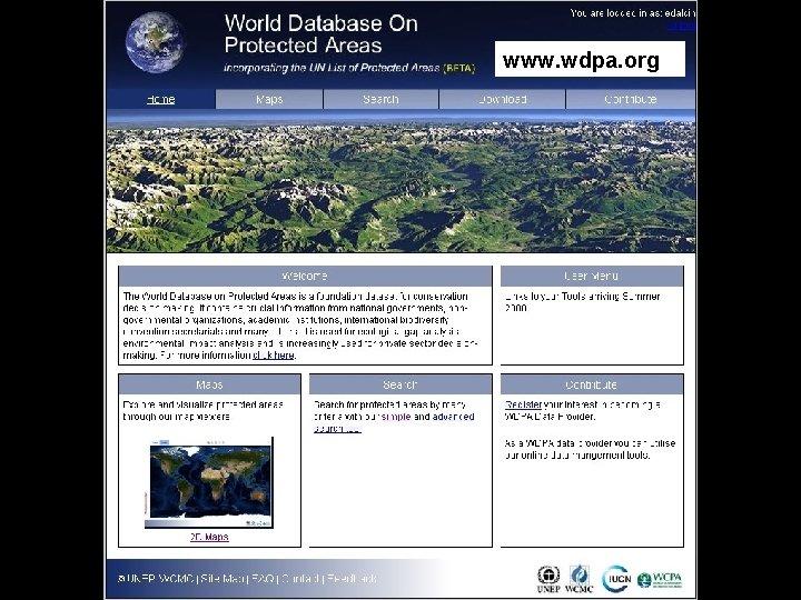 www. wdpa. org