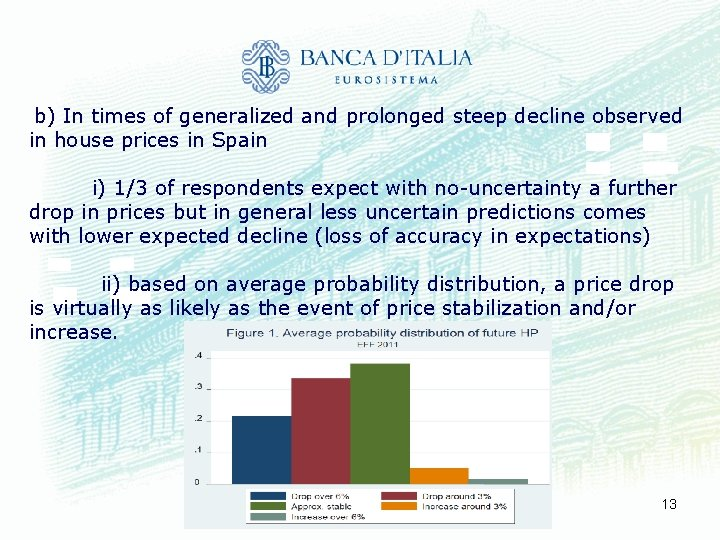 b) In times of generalized and prolonged steep decline observed in house prices in