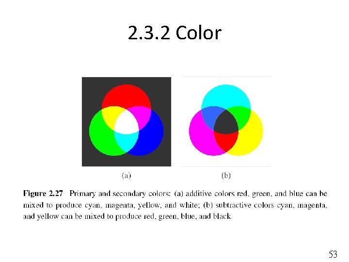 2. 3. 2 Color 53