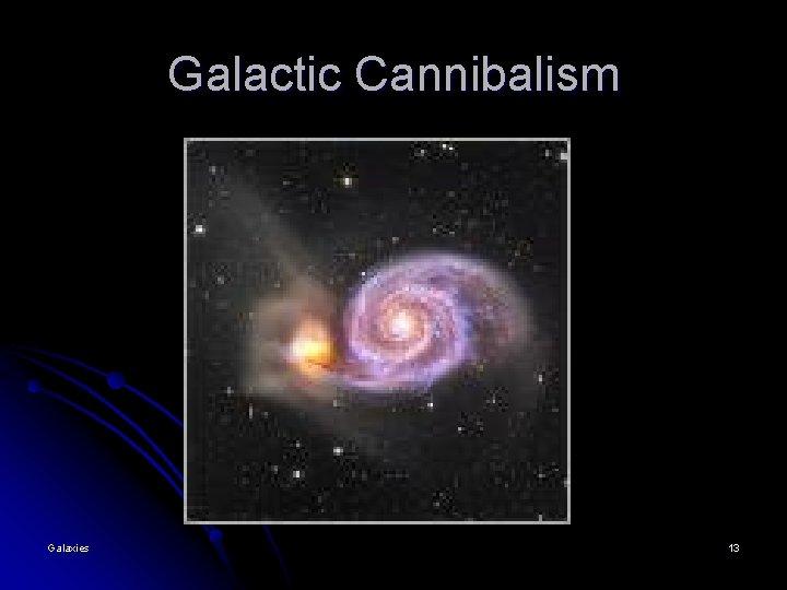 Galactic Cannibalism Galaxies 13