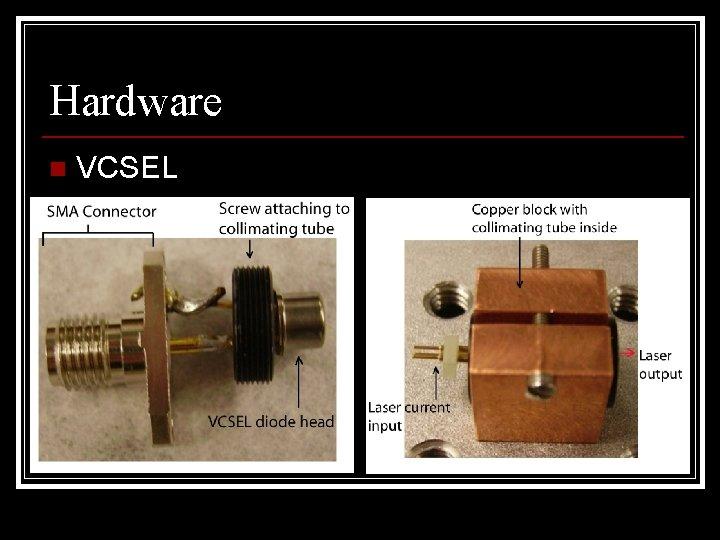Hardware n VCSEL