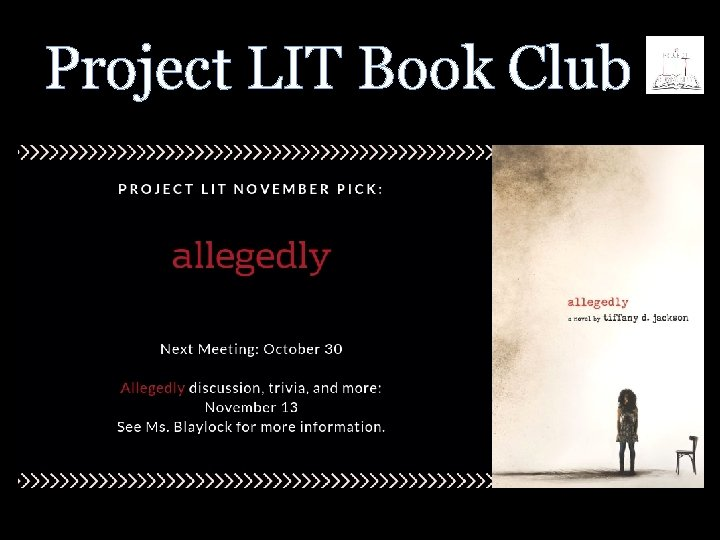 Project LIT Book Club