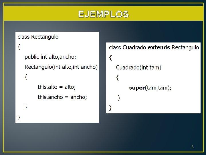 EJEMPLOS 6