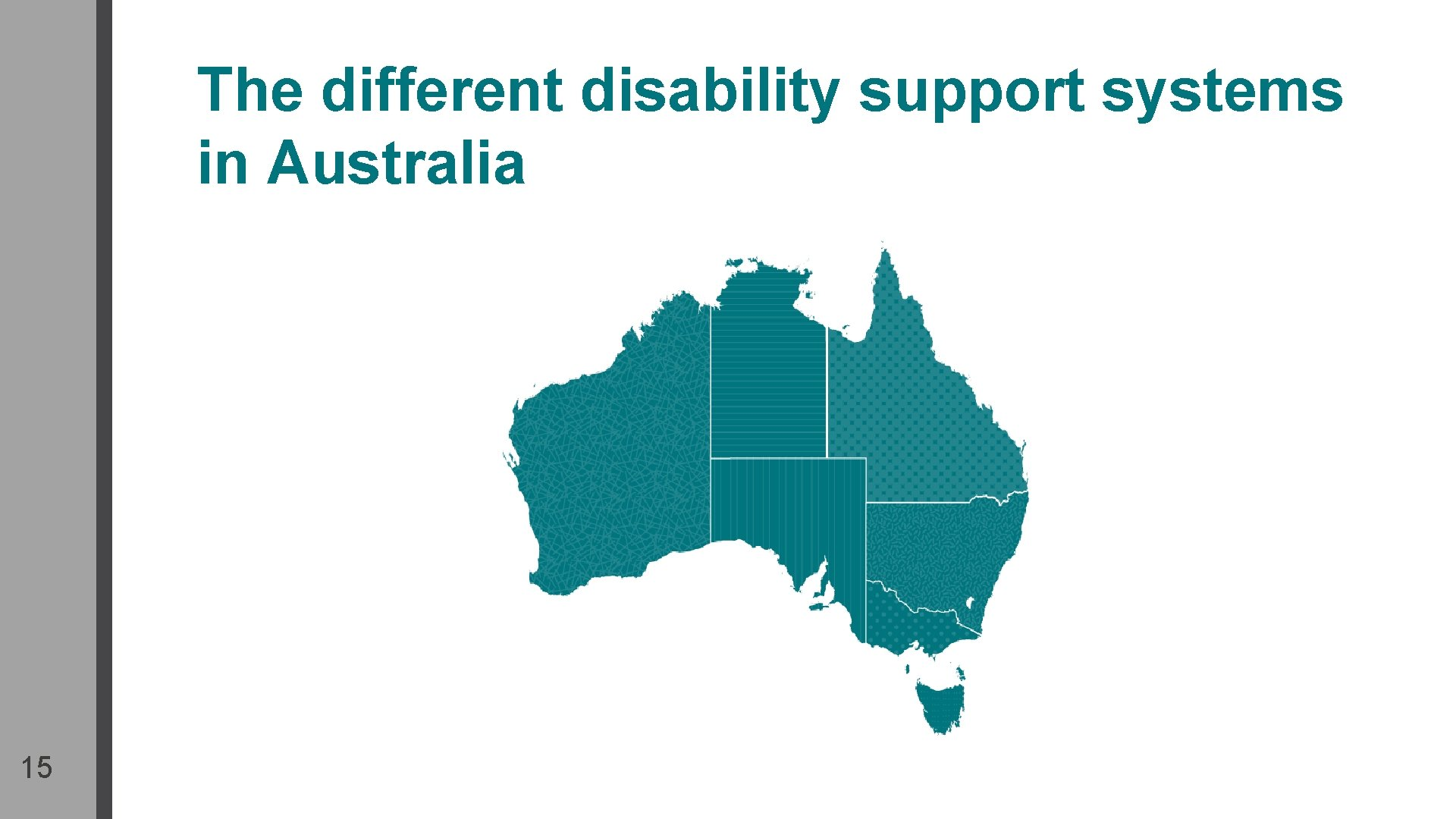 The different disability support systems in Australia 15