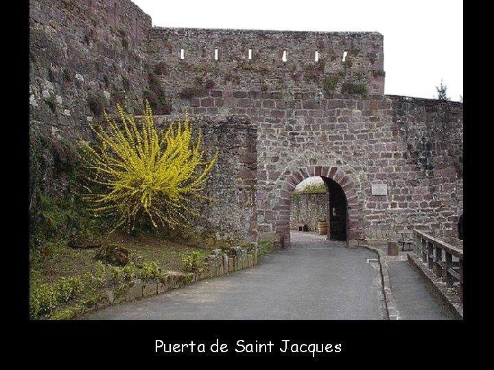 Puerta de Saint Jacques