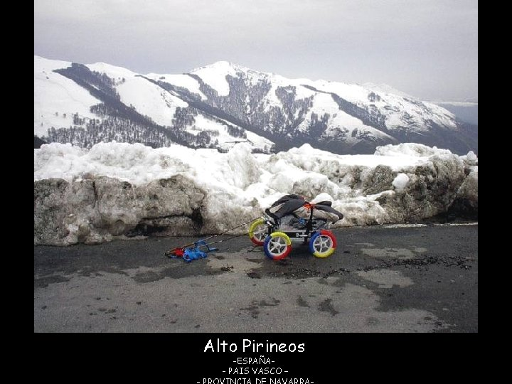 Alto Pirineos -ESPAÑA- PAIS VASCO –