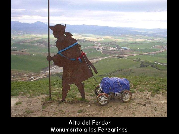 Alto del Perdon Monumento a los Peregrinos