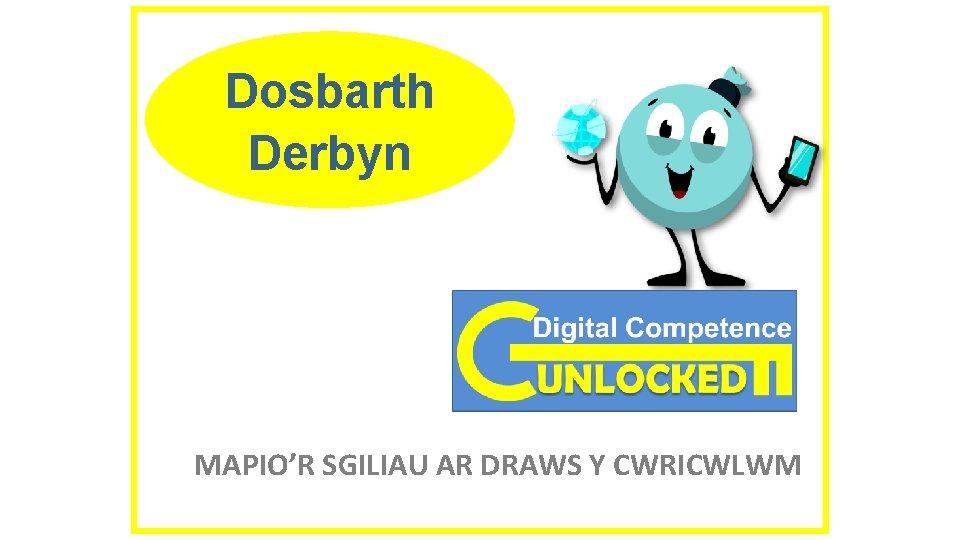 Dosbarth Derbyn MAPIO'R SGILIAU AR DRAWS Y CWRICWLWM