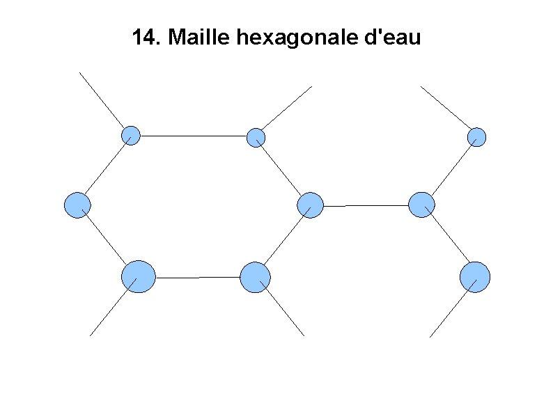 14. Maille hexagonale d'eau