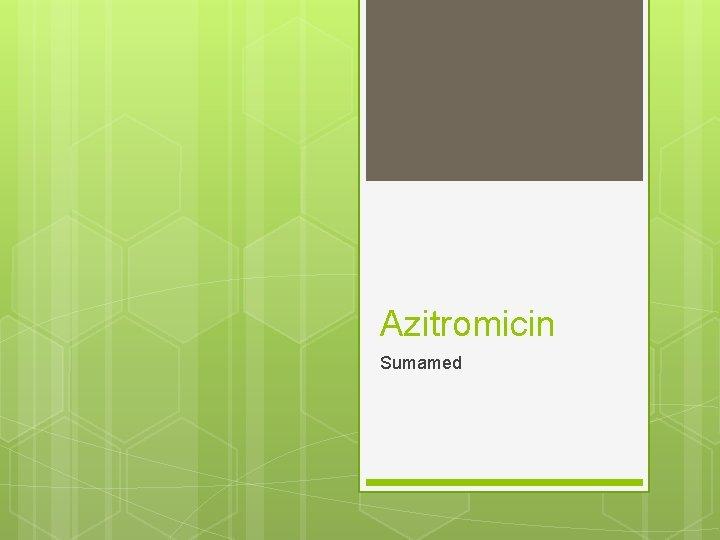 Azitromicin Sumamed