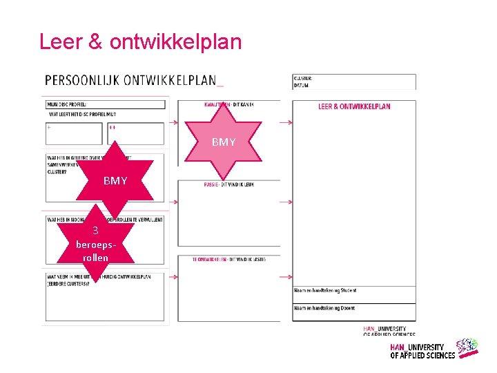 Leer & ontwikkelplan BMY 3 beroepsrollen Gemaakt door: Wiet Verkooijen