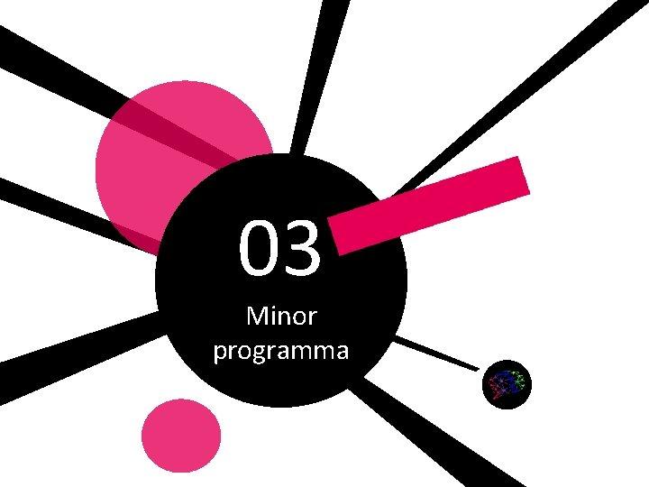 03 Minor programma Gemaakt door: Wiet Verkooijen