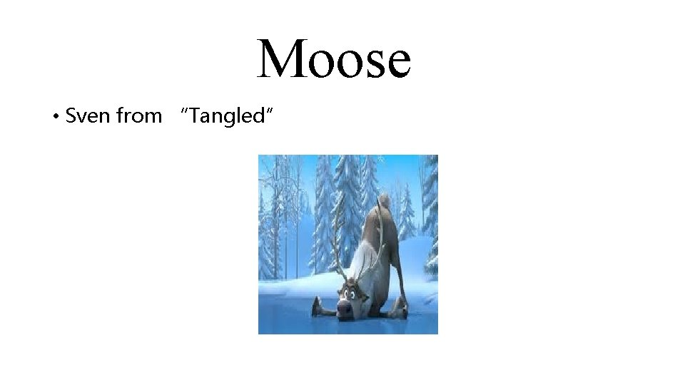 """Moose • Sven from """"Tangled"""""""