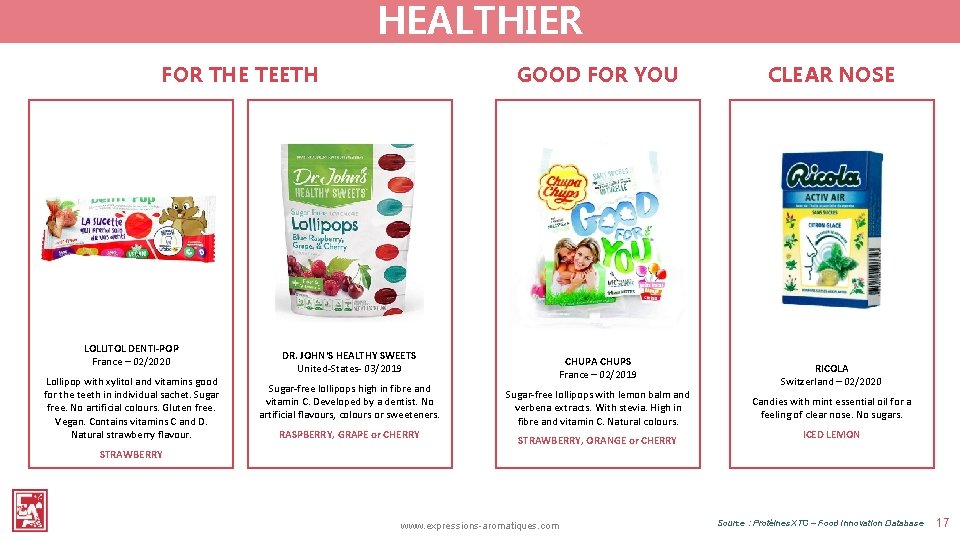 HEALTHIER FOR THE TEETH LOLLITOL DENTI-POP France – 02/2020 Lollipop with xylitol and vitamins