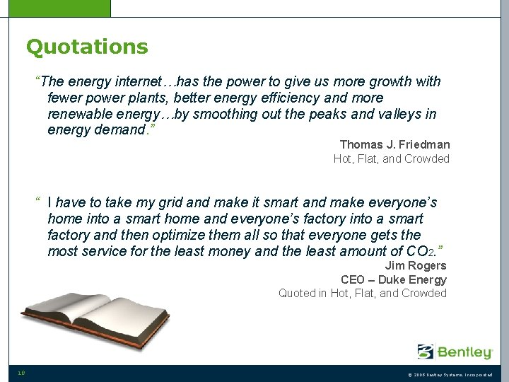 """Quotations """"The energy internet…has the power to give us more growth with fewer power"""