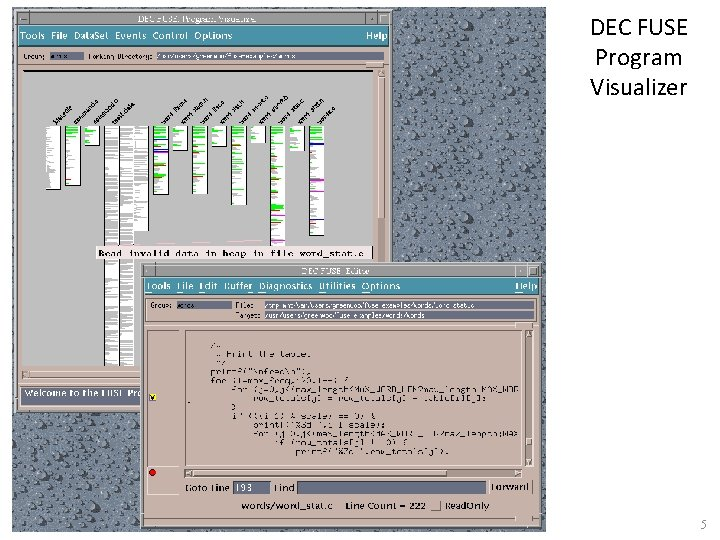 DEC FUSE Program Visualizer 5