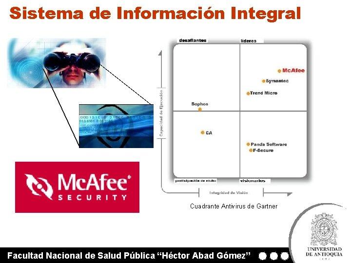 """Sistema de Información Integral Cuadrante Antivirus de Gartner Facultad Nacional de Salud Pública """"Héctor"""