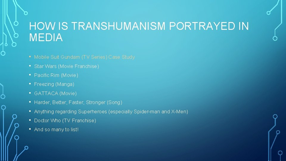 HOW IS TRANSHUMANISM PORTRAYED IN MEDIA • • • Mobile Suit Gundam (TV Series)