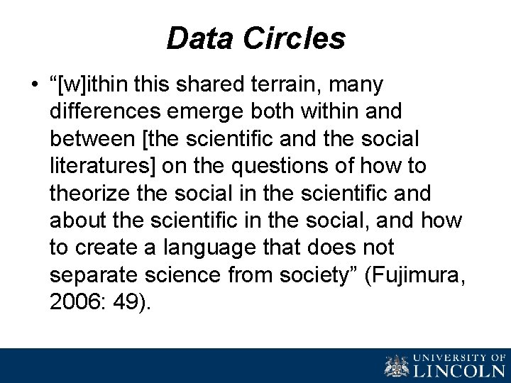 """Data Circles • """"[w]ithin this shared terrain, many differences emerge both within and between"""
