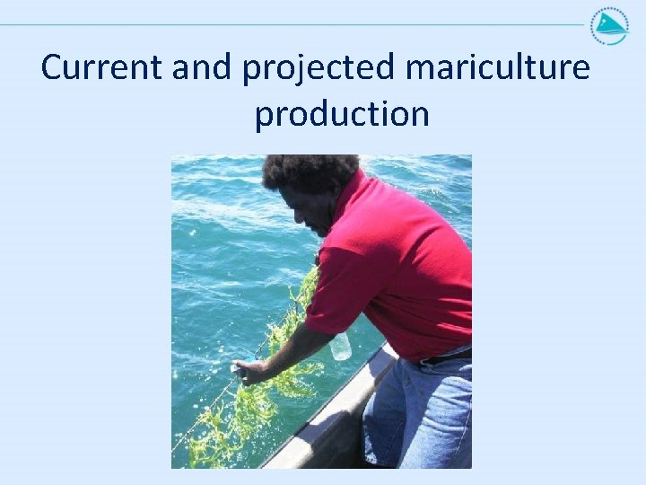 Current and projected mariculture production