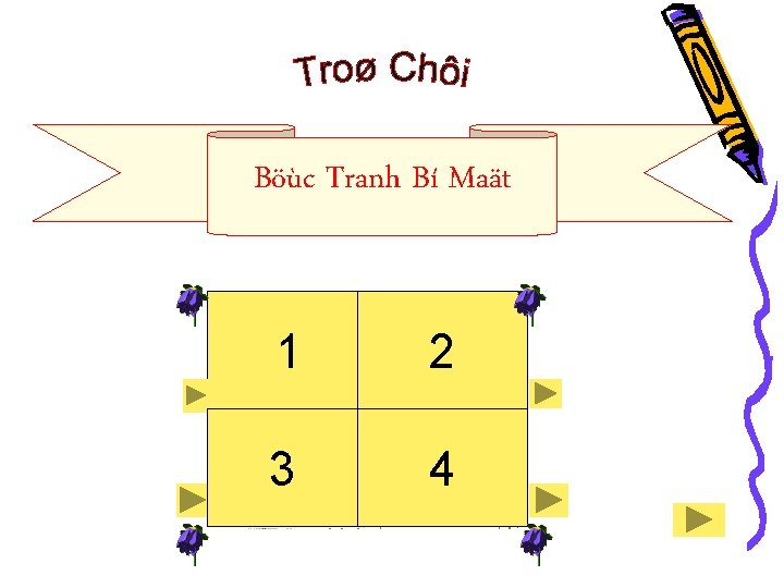 Böùc Tranh Bí Maät 1 2 3 4