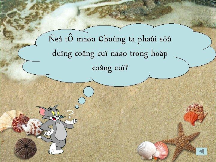 Ñeå tô maøu chuùng ta phaûi söû duïng coâng cuï naøo trong hoäp coâng