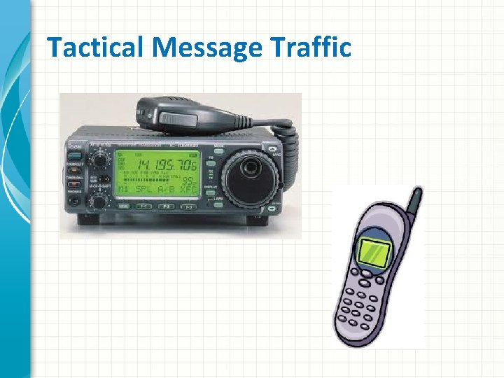 Tactical Message Traffic