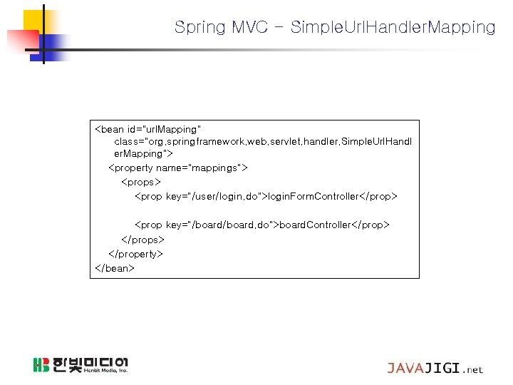 "Spring MVC - Simple. Url. Handler. Mapping <bean id=""url. Mapping"" class=""org. springframework. web. servlet."