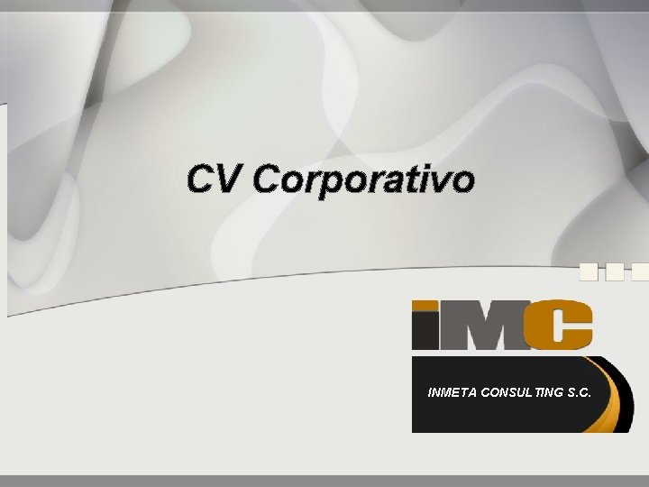 CV Corporativo INMETA CONSULTING S. C.