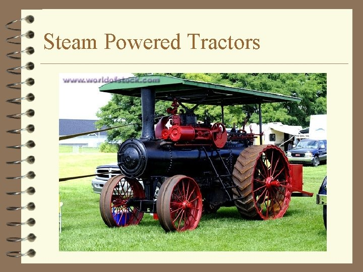 Steam Powered Tractors