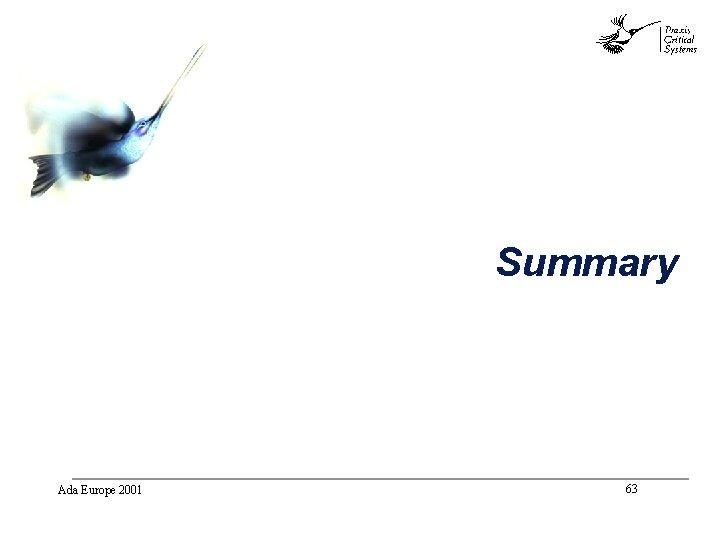 abc Summary Ada Europe 2001 63