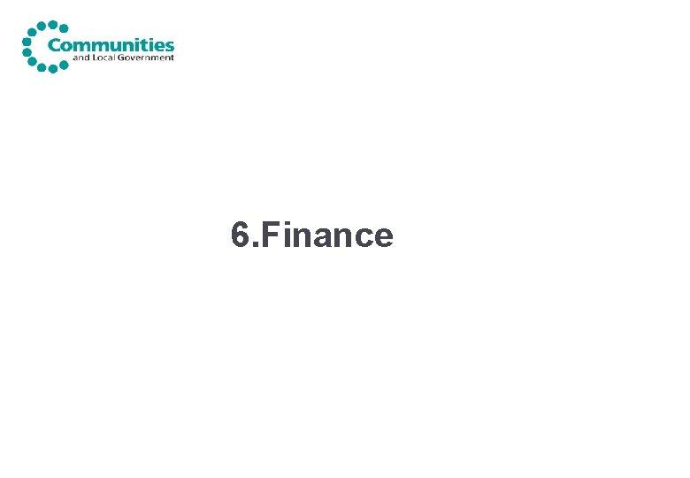 6. Finance