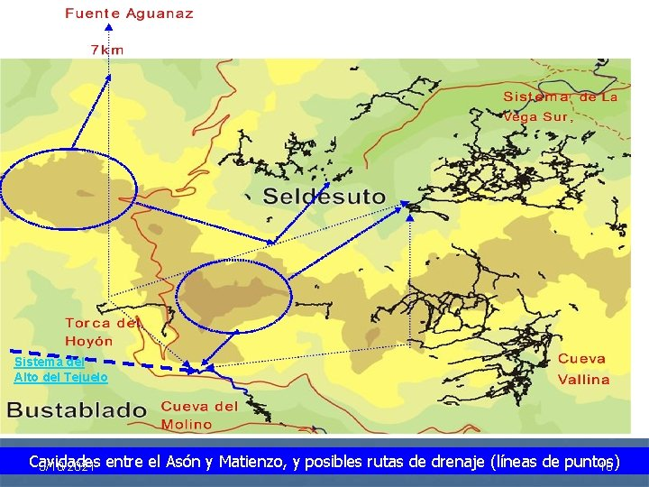 Sistema del Alto del Tejuelo Cavidades 18 3/10/2021 entre el Asón y Matienzo, y