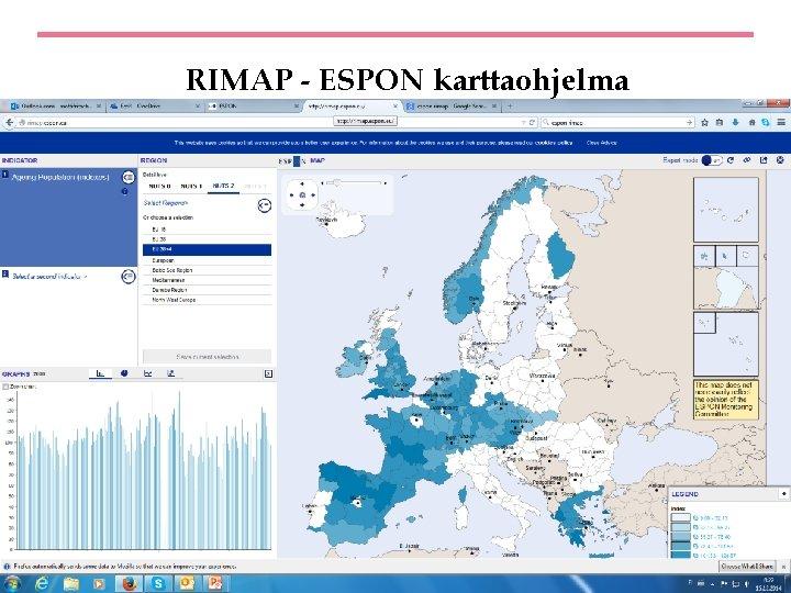 RIMAP - ESPON karttaohjelma