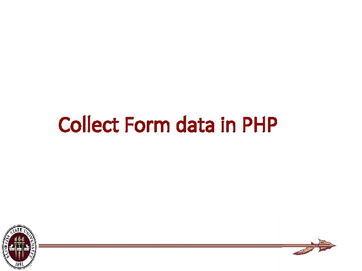 Collect Form data in PHP
