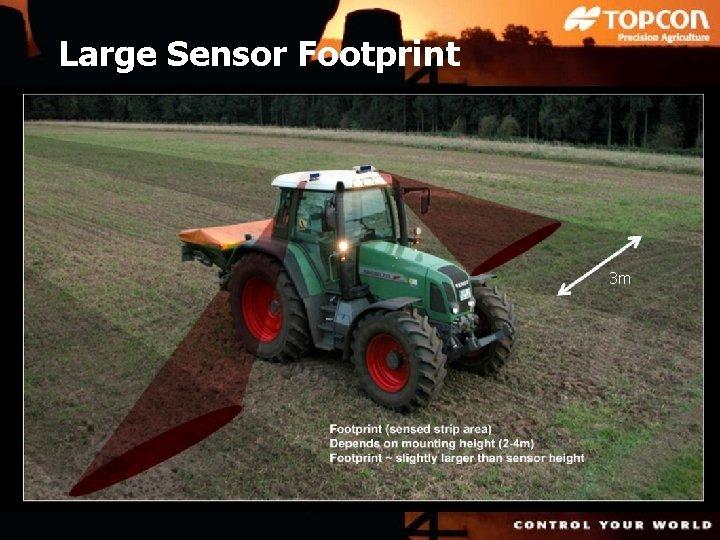 Large Sensor Footprint 3 m