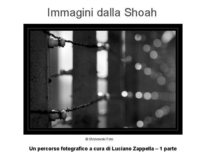 Immagini dalla Shoah © Strykowski Foto Un percorso fotografico a cura di Luciano Zappella