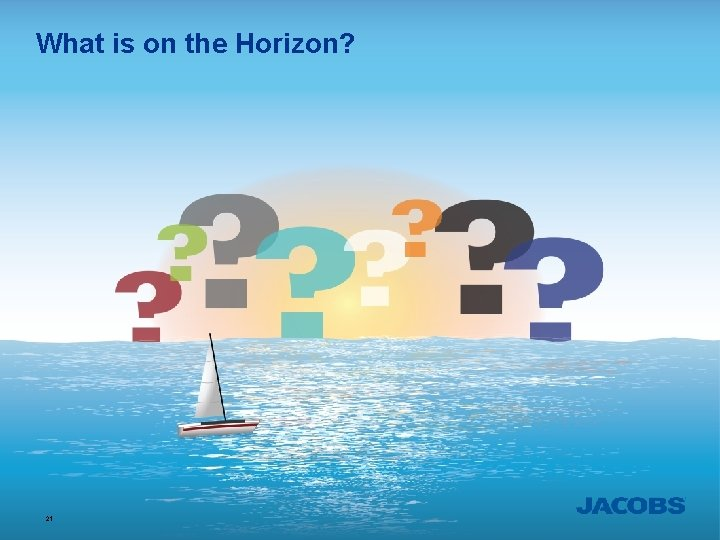What is on the Horizon? 21