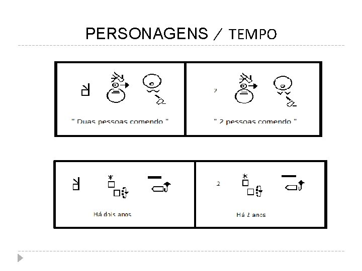 PERSONAGENS TEMPO