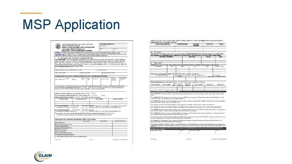 MSP Application