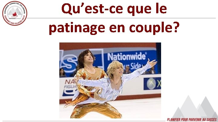 Qu'est-ce que le patinage en couple?