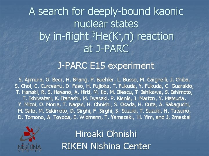 A search for deeply-bound kaonic nuclear states by in-flight 3 He(K-, n) reaction at