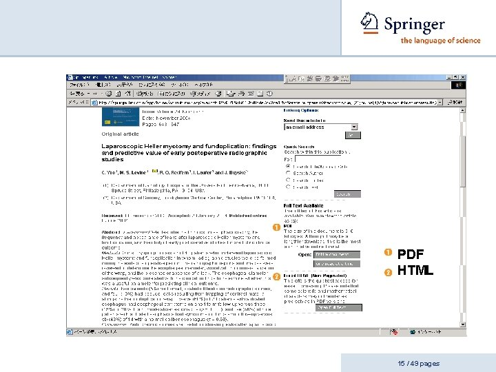 PDF HTML 15 / 49 pages