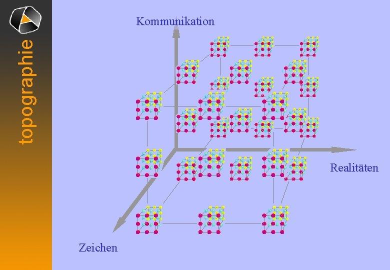 topographie Kommunikation Realitäten Zeichen