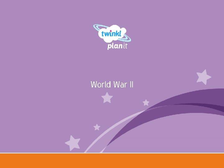 World War II Year One
