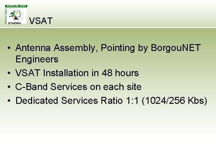 VSAT • Antenna Assembly, Pointing by Borgou. NET Engineers • VSAT Installation in 48