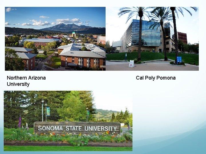 Northern Arizona University Cal Poly Pomona