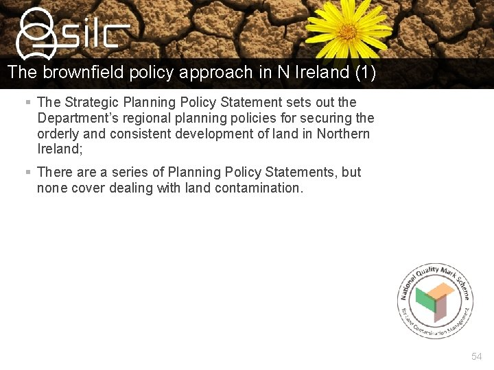 The brownfield policy approach in N Ireland (1) § The Strategic Planning Policy Statement