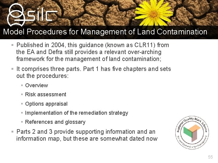 Model Procedures for Management of Land Contamination § Published in 2004, this guidance (known