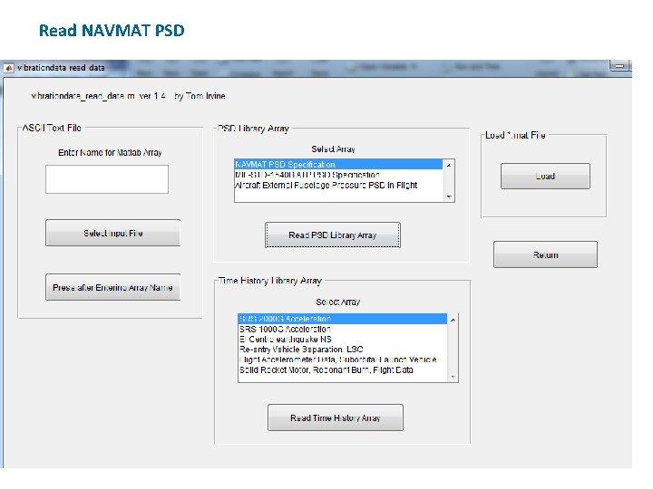 Read NAVMAT PSD
